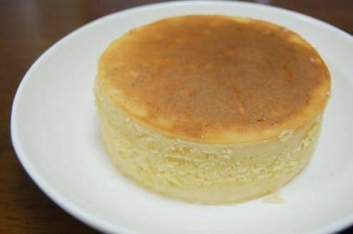 パンケーキの完成