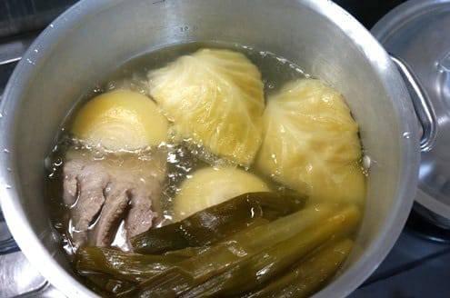 2時間煮こんだスープ