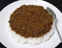 ドライカレー(挽肉タイプ)
