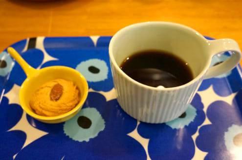 ミニョンでコーヒー