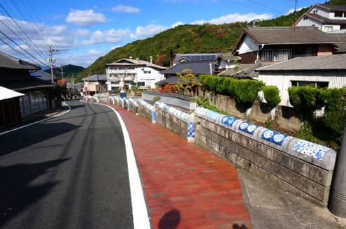 中尾山の坂道