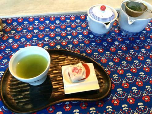 アイユーでお茶
