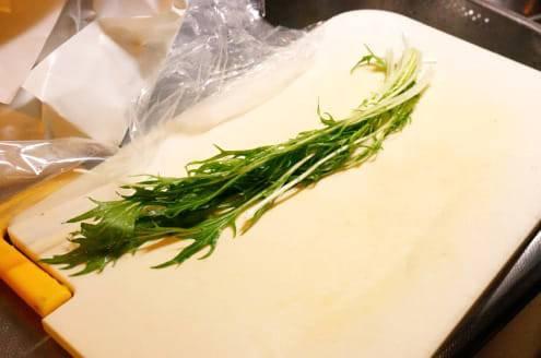 水菜のツマ