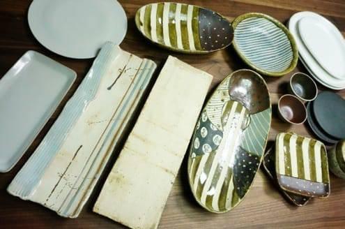 購入した陶器の写真