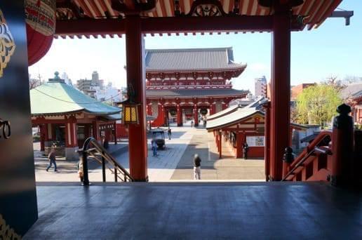浅草寺からのながめその3