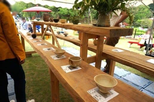 茶碗を選ぶ