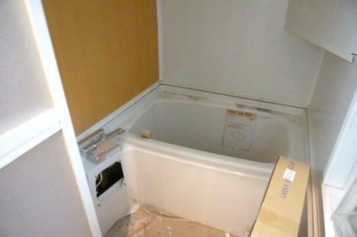 お風呂場が完成