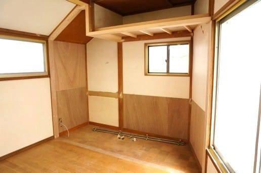 収納をとっぱらい部屋ができた