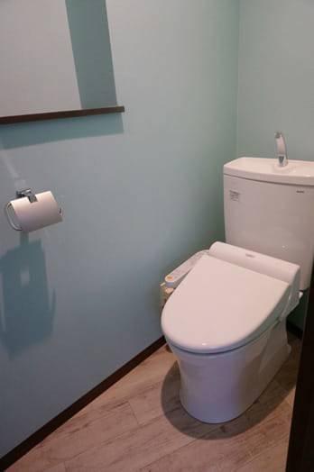 トイレ アフター