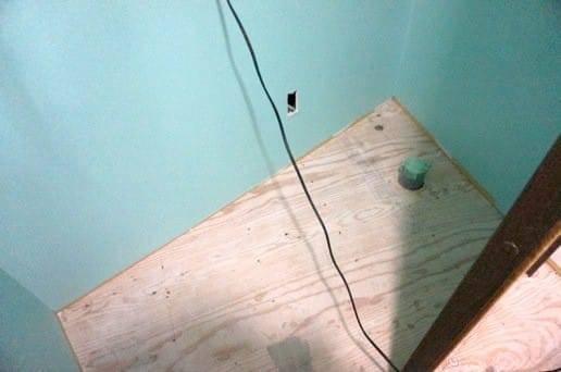 トイレの小部屋が完成
