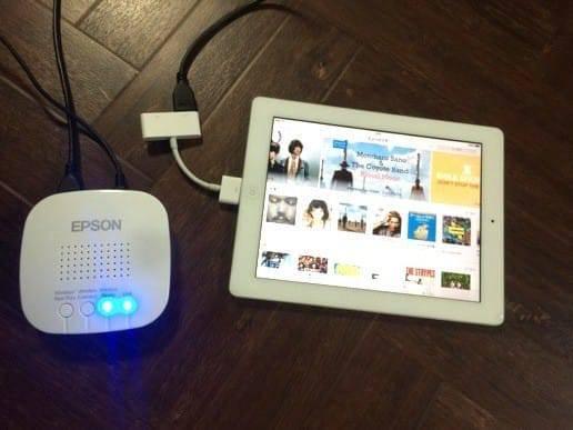 iPadとモベリオ