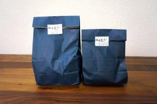 日本橋うさぎやのどら焼きの包装