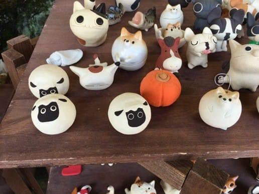 有田焼の動物の陶器