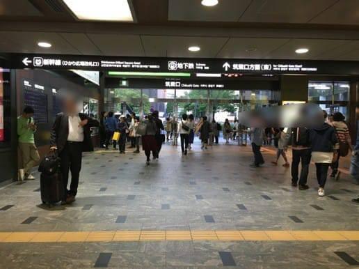 博多駅の筑紫口