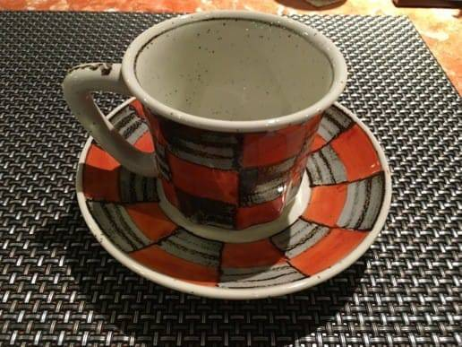 ギャラリー有田のコーヒーカップ