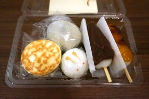 阿佐ヶ谷うさぎやその他の和菓子アップ