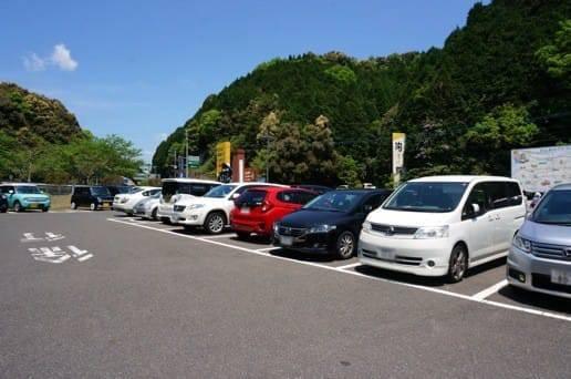 第2会場の駐車場