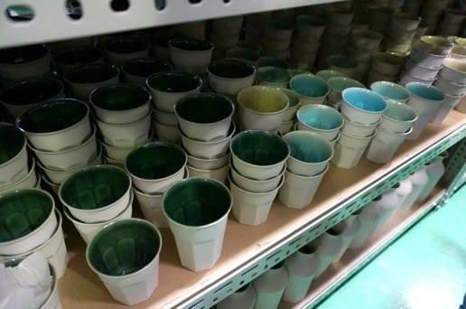 マルヒロ 倉庫のグラス