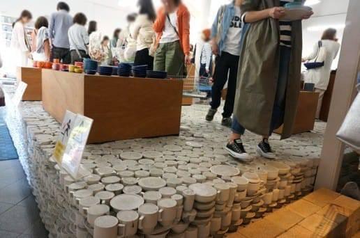 マルヒロ 陶器でできたA品会場