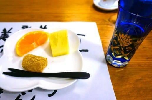 帆山亭の朝の食事4