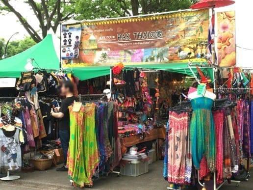 タイの洋服の店