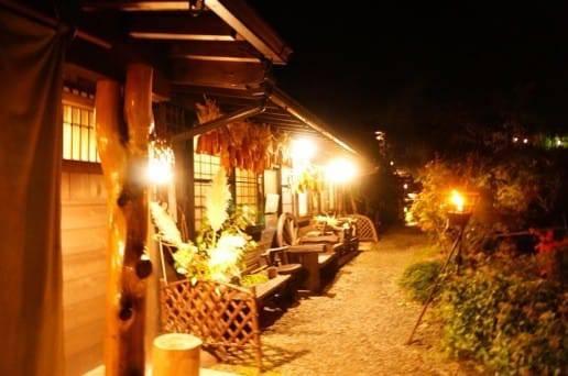 帆山亭の夜景