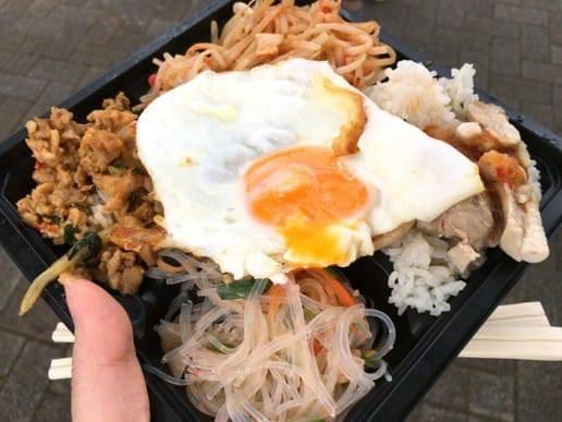 タイ料理の4品盛りセットたっぷり