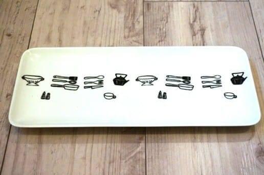 キッチンツールの長角皿
