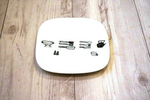 キッチンツールの角皿