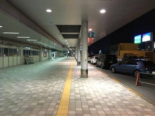 博多空港が見えてきた