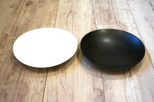 白山陶器の中皿
