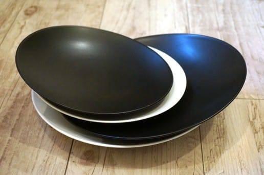 白山陶器の大皿