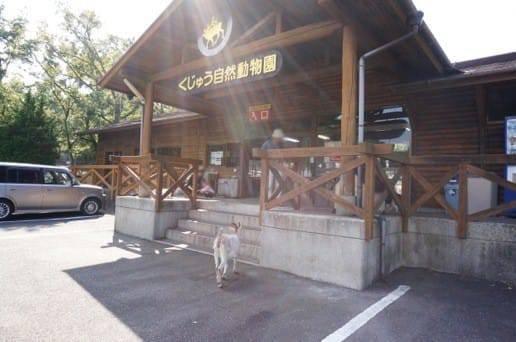 くじゅう自然動物園の入口
