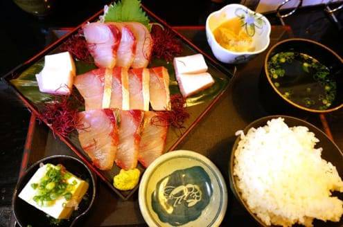 関ブリの定食