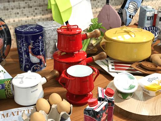 北欧の器と調理器具