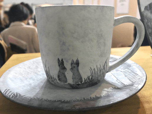 テリア系のマグカップ