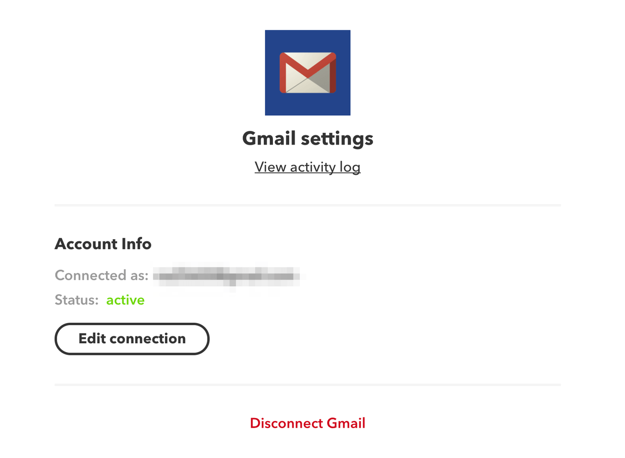 gmailの許可