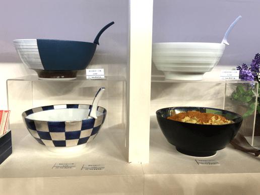 有田焼のラーメン丼