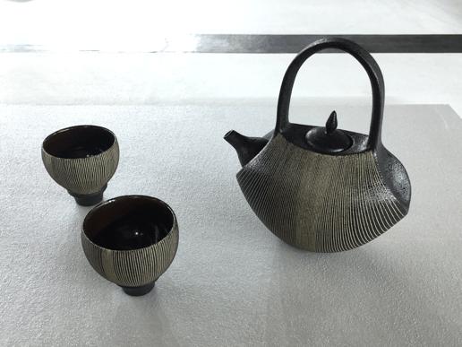 個性的な茶器