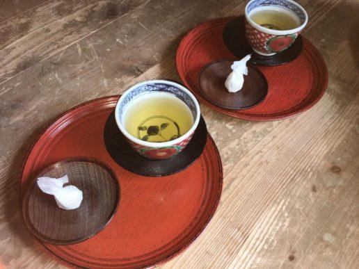 魯山人寓居跡 お茶菓子