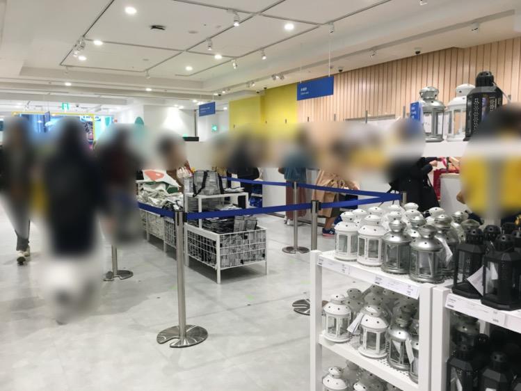 IKEA渋谷のレジコーナー