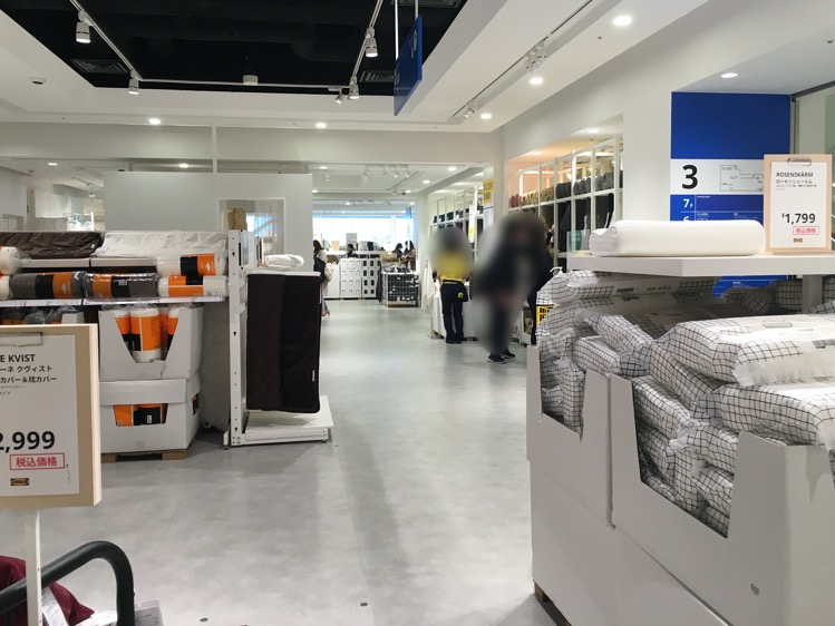 IKEA渋谷3階の様子