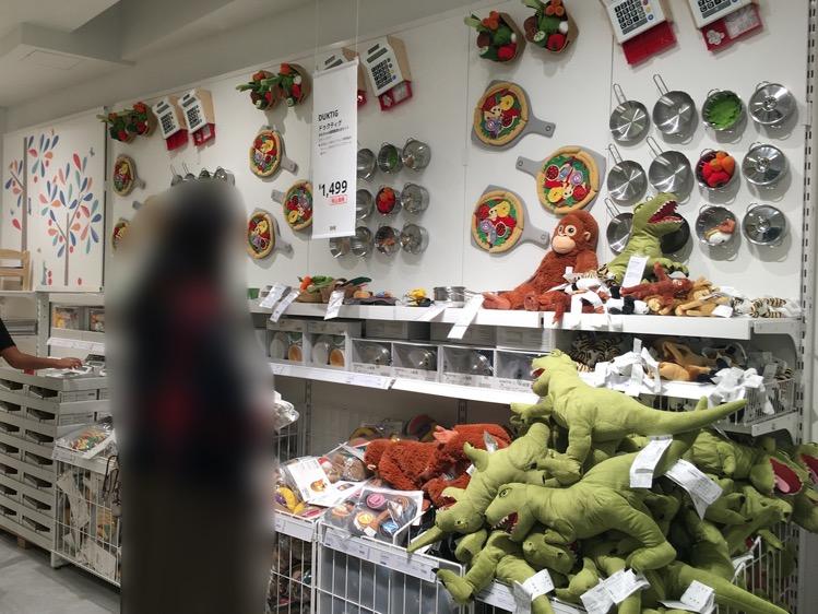 IKEA渋谷3階おもちゃコーナー