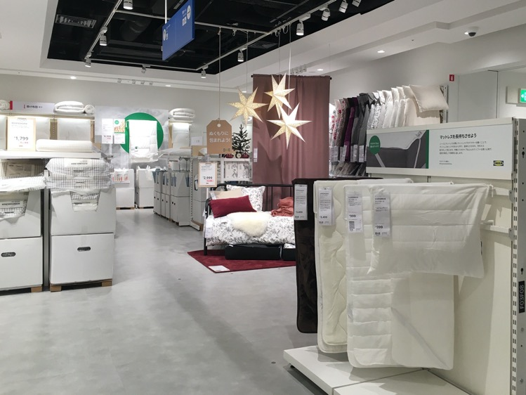 IKEA渋谷3階コーナー