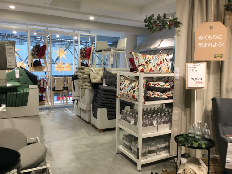 IKEA渋谷 ファブリック