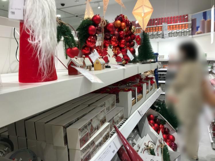IKEA渋谷1Fのクリスマスコーナー