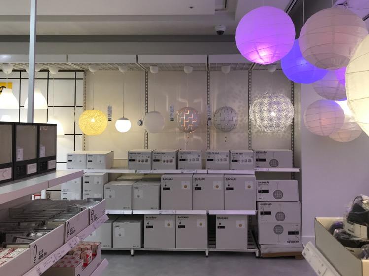 IKEA渋谷 照明コーナー