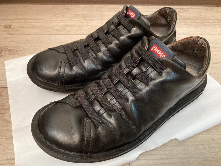 靴修理after